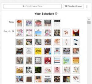 Usa Tailwind para crear un calendario y programar tus pines a lo largo del día de forma automática