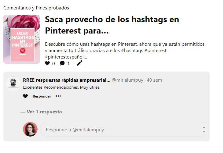 Crear comunidad en Pinterest para negocios