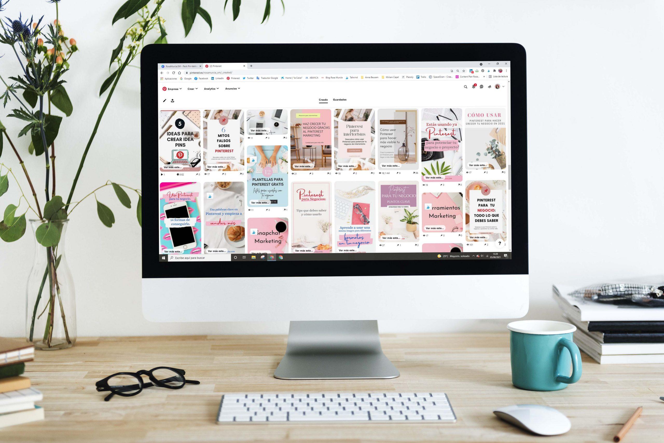 Eleva tu visibilidad con Pinterest para tu negocio